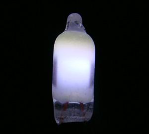 4 *10MM NE-2W白色氖灯 白色荧光氖灯