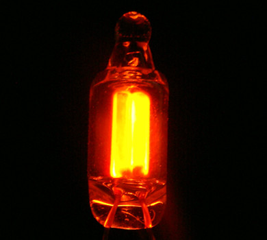 6*16MM NE-2 氖灯 红色氖灯