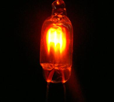 5*13mm  NE-2H氖灯  桔红色氖灯