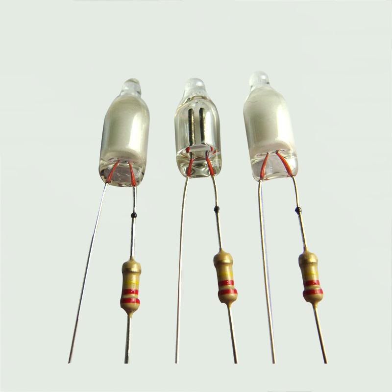 氖灯加工  电阻+氖灯点焊