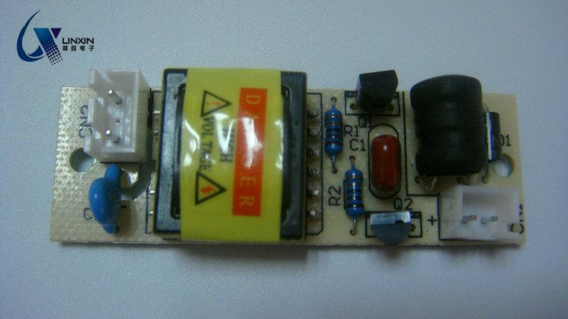 一托一DC3-24V驱动裸板  紫外线灯管电源驱动