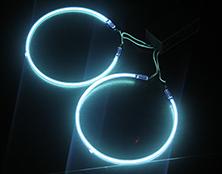 365NM 环形 冷阴极UV紫外线灯管 带线
